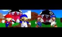 SMG4: Who Let The Chomp Out? Original Vs Remastered
