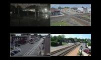 CSX Live Streaming Video Feed Compilation