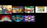 american dad vs simpsons vs south park vs bob's burgers vs family guy vs futurama vs cleveland show