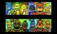 Five Nights At Freddy's Ocular Remix Mashup UPDATE