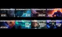 All Overwatch Animated Shorts At Once (Part 1)
