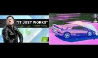 "Music To Relax To - ""It Just Works™"" by NVIDIA's Jensen"