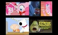 Pinkie Pie AGK Pear And Stewie React tO Cupcakes