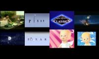 All the Pixar logo spoofs