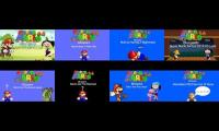 Super Mario 64 Bloopers; All 8 Episodes Running At The Same Time