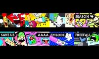 Every episode of the whole BFDI series played at once Part 5