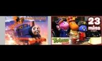 The Backyardigans: Catch The Train with TATMR music