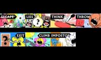 Every episode of the whole BFDI series played at once Part 6 (synced)