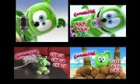 4 GUMMY BEAR SONGS AT THE SAME TIME!