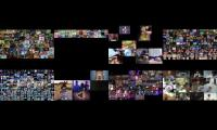 All 8 videos of Allatthesametime played all at the same time