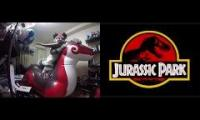jurassic inflatable dragon park 2: the parkerering