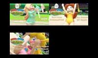 Princess Tomboy Daisy vs Princess peach Toadstool vs Rosalina the Space Princess