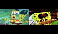 Spongebob vs Slendybob (Sparta Remix Battle)