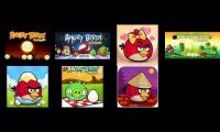 All angry birds seasons all review at the same time