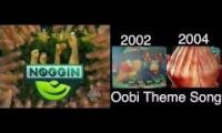 Oobi Theme Comparison (season 1, 2, shorts)