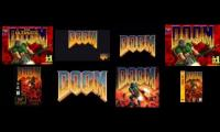 8 versions of Doom's gate at once