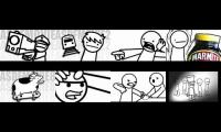 asdfmovie videos eightparison RANDOM