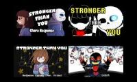 A normal stronger than you mashup. Chara, Sans, Frisk and.. Error!Sans?