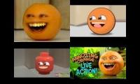 The annoying orange realistic vs animation vs lego vs live action