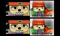 up to faster 4 parison to PaRappa the Rapper