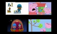 Sparta battle remix pocoyo vs peppa pig