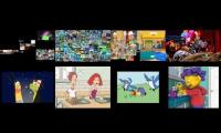 Annoying goose pre movie spongebob handy manny lazytown harry Andy peep and sid