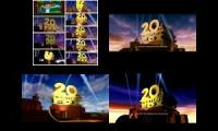 20th century Fox 1994 logo 12parison remake vs original