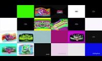 Thumbnail of Noggin and nick jr. Logo collection quadparison sixparison