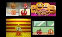 Annoying Orange in 10 Different Animation Styles!