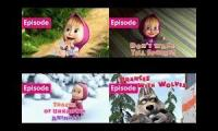 Up to faster 4 parison Masha and the bear