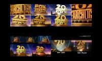 14 20th Century Fox Logos Played At Once