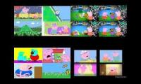 scream contents superparison to peppa pig