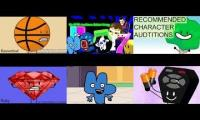 BFDI auditions sixparsion 1