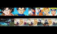Thumbnail of THE VERY BEST OF SON GOKU VEGETA AND Ino Yamanaka