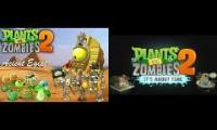 Plants vs Zombies 2 Custom Music - Holographic World Theme