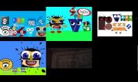 a blooper of the logos are in the klasky csupo logo part 4 6 parison
